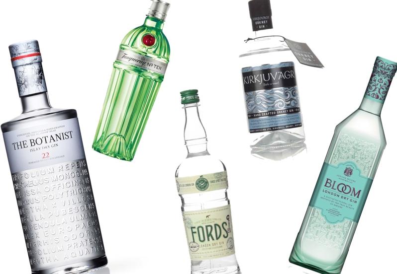 gin flatlay